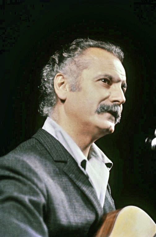 Georges Brassens in 1966