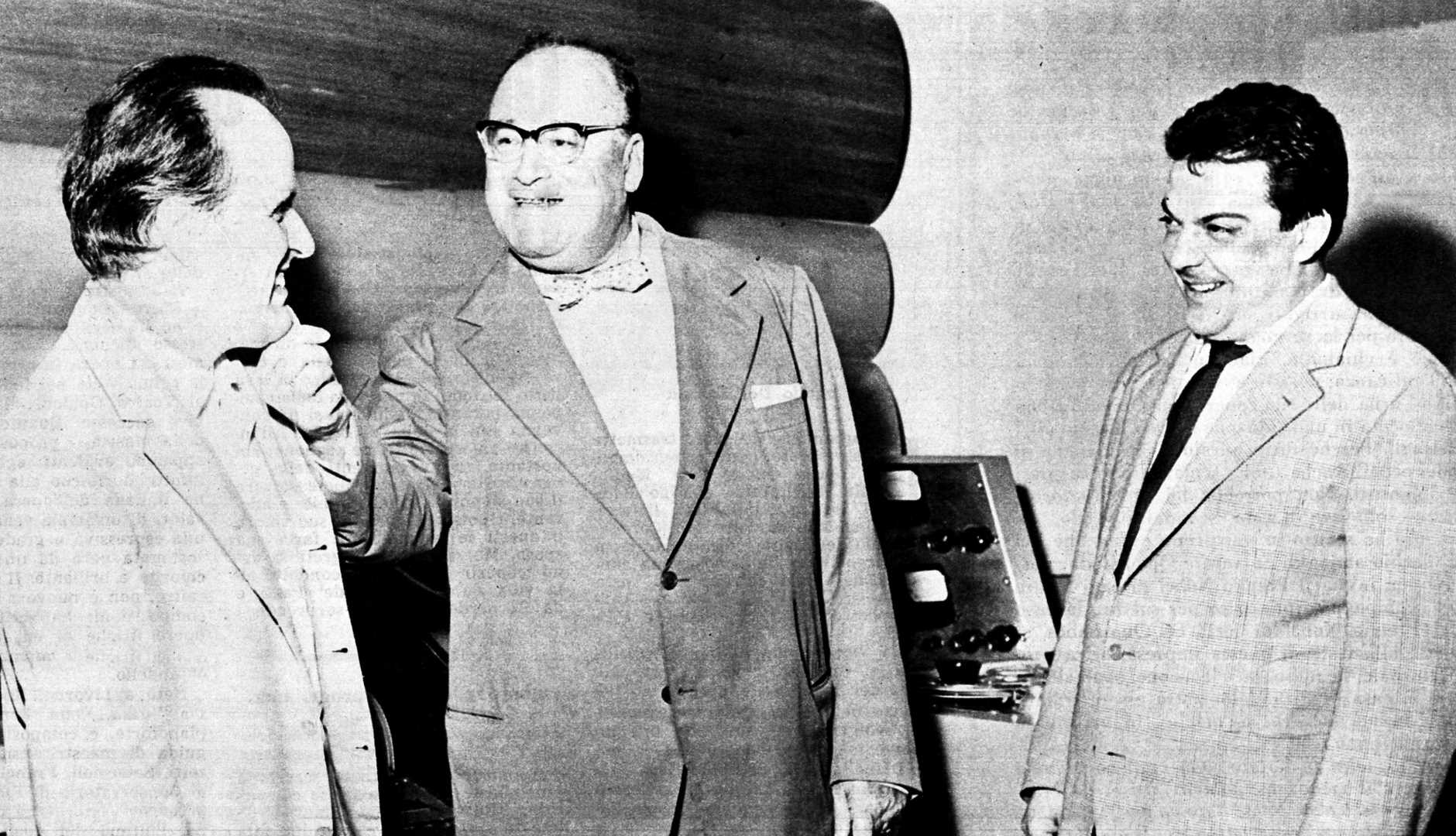 Nino Rota (left) in 1963