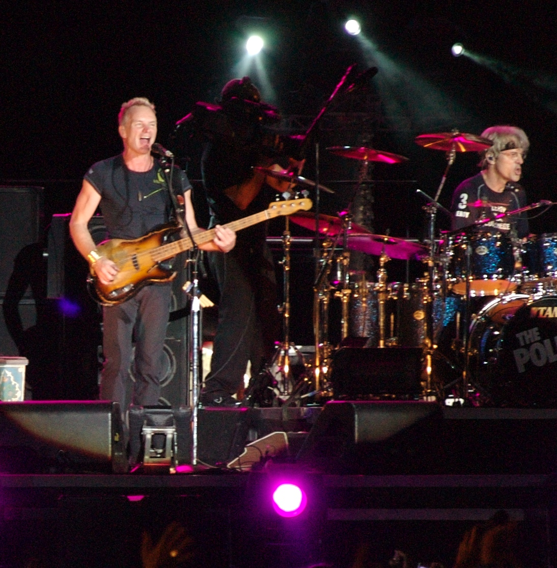The Police in 2007