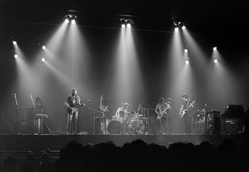 Pink Floyd en 1973 à Earls Court, Londres